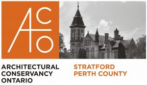 stratford perth county branch architectural conservancy ontario logo