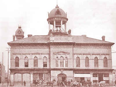 First Town Hall Built 1857