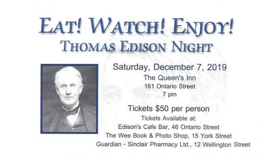 Thomas Edison Night