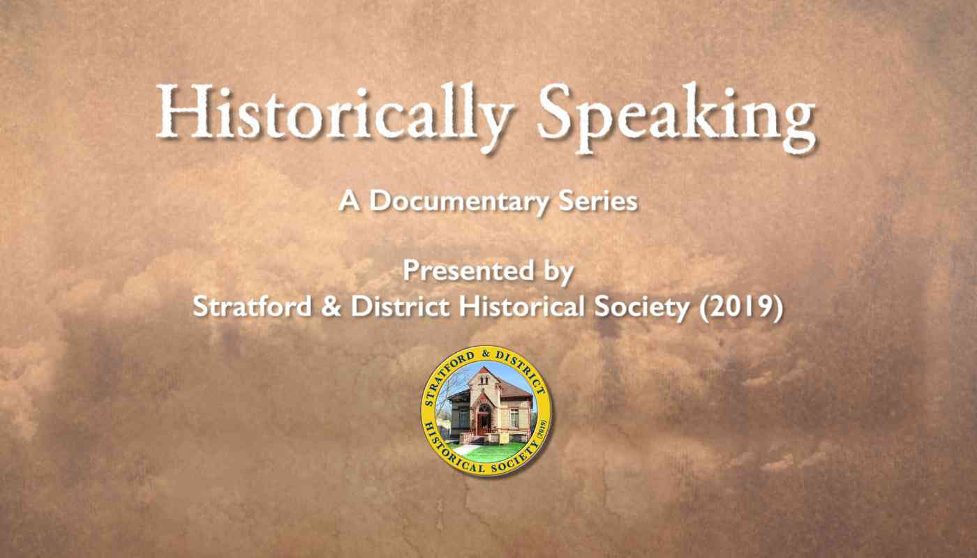 historically speaking video launch